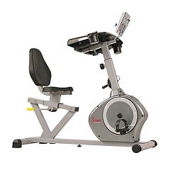 Sunny Health & Fitness Desk Recumbent Exercise Bike