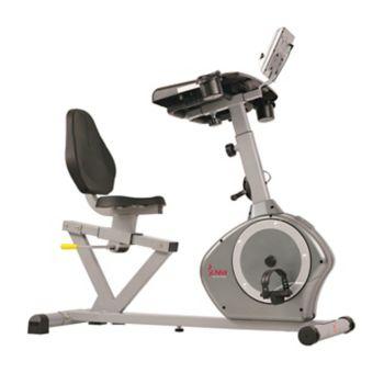 Sunny Health & Fitness Desk Recumbent Exercise Bike