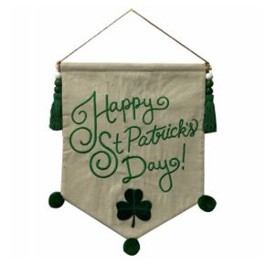 Celebrate St. Patrick's Day Together Banner Wall Decor
