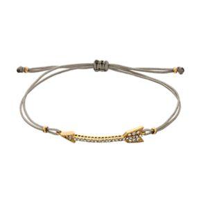 LC Lauren Conrad Arrow Slipknot Bracelet