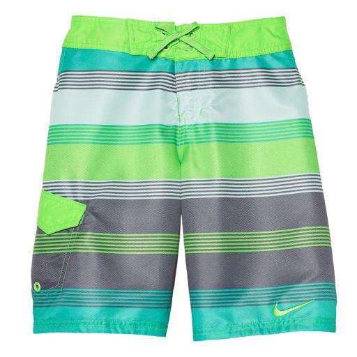 Boys 8-20 Nike Lane Drift Boardshorts