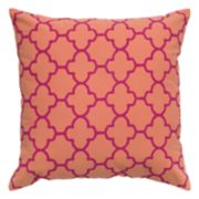 Rizzy Home Moroccan Tile Printed Throw Pillow
