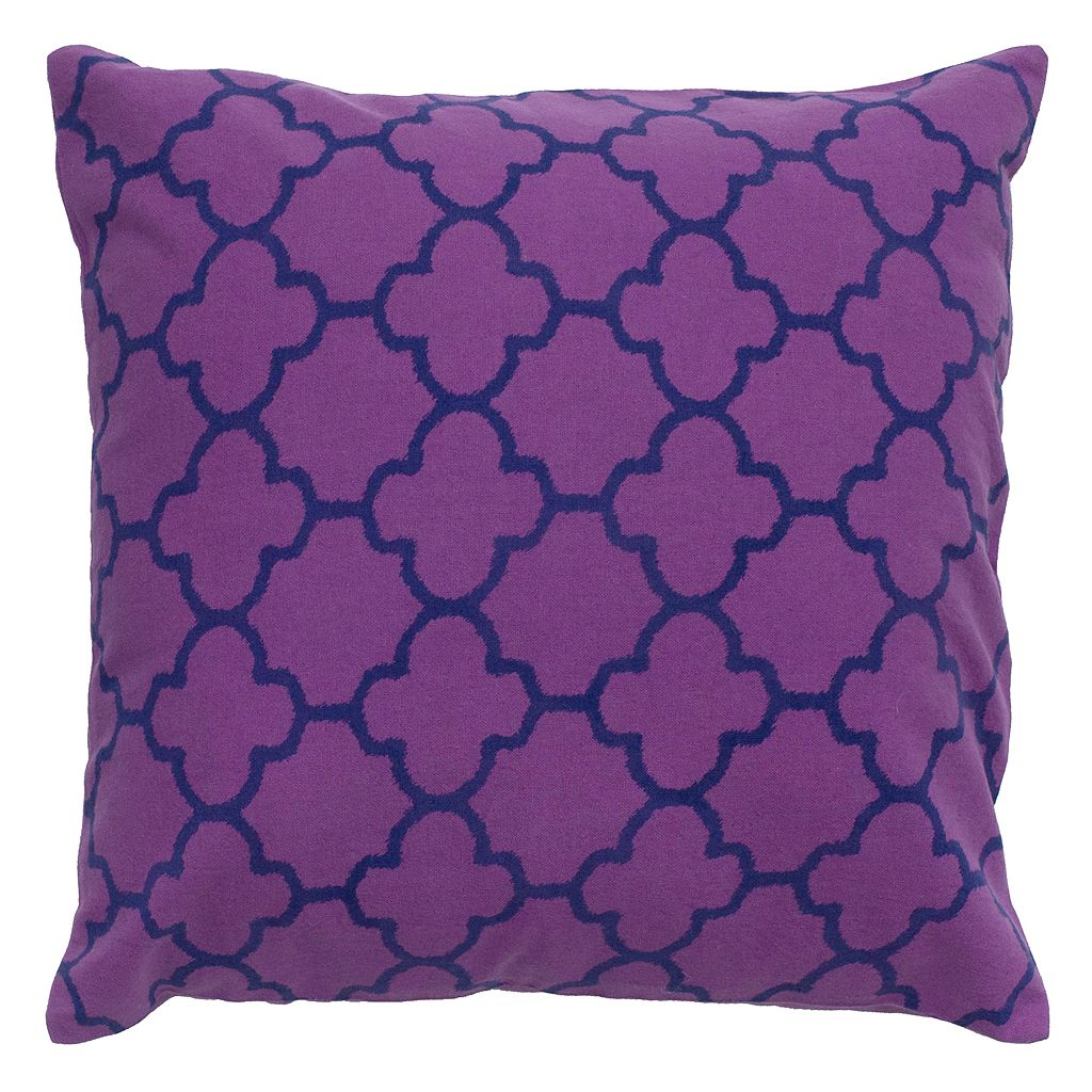 Rizzy Home Moroccan Tile Printed Throw Pillow