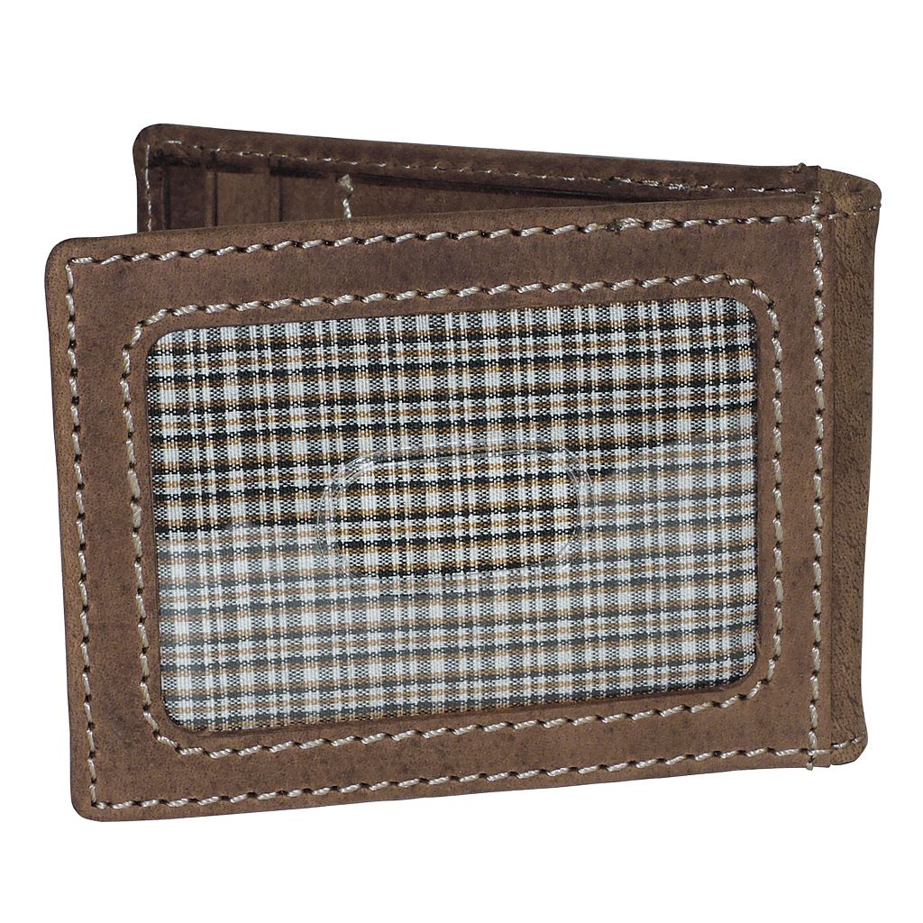 Buxton Expedition II RFID Slimfold with Clip Wallet