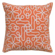 Rizzy Home Rolling Scroll Geometric Printed Throw Pillow