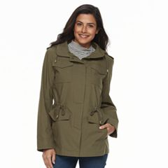 Women's d.e.t.a.i.l.s Hooded Cotton Anorak Jacket