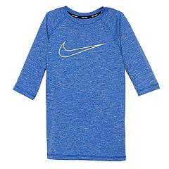 Boys 8-20 Nike Swoosh Hydro Rash Guard Top