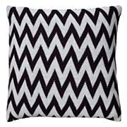Rizzy Home Chevron Woven Throw Pillow