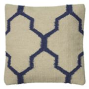 Rizzy Home Moroccan Tile Motif Woven Throw Pillow