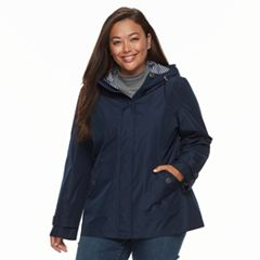 Plus Size d.e.t.a.i.l.s Radiance Hooded Jacket