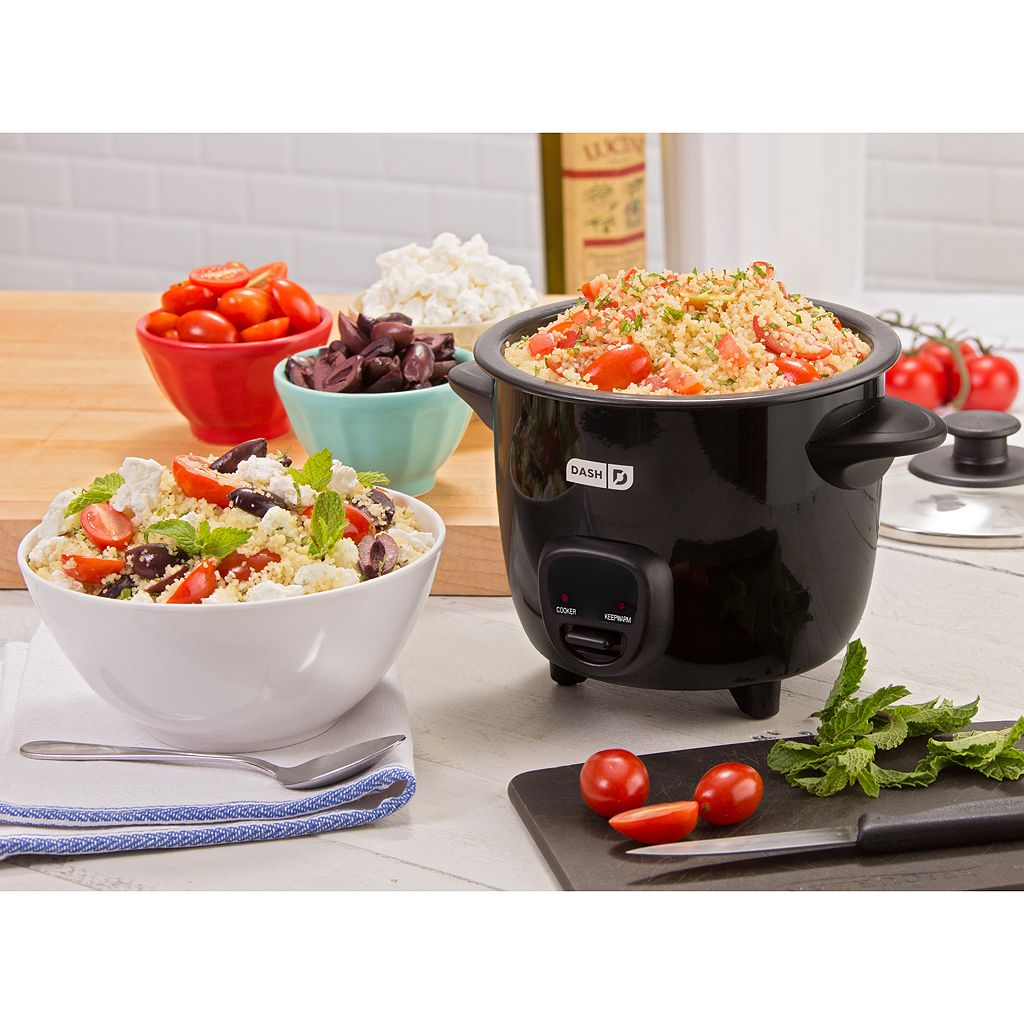 Dash Mini Rice Cooker with Keep Warm Function