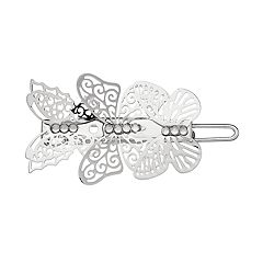 LC Lauren Conrad Filigree Butterfly Barrette Hair Clip