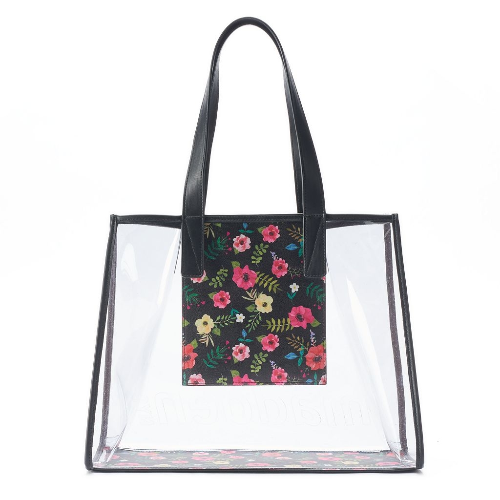 madden NYC Lily Clear Tote