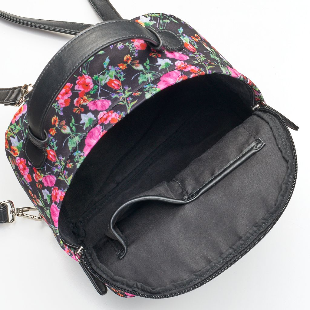 madden NYC Jay Floral Dome Backpack