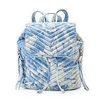 madden NYC Lulu Drawstring Mini Backpack