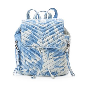 madden NYC Lulu Drawstring Mini Backpack