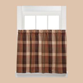 Saturday Knight, Ltd. Brighton Tier Kitchen Window Curtain Set