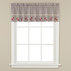 Saturday Knight, Ltd. Ships Ahoy Window Valance