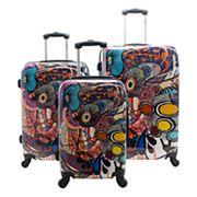 Chariot Vango 3 pc Hardside Spinner Luggage Set