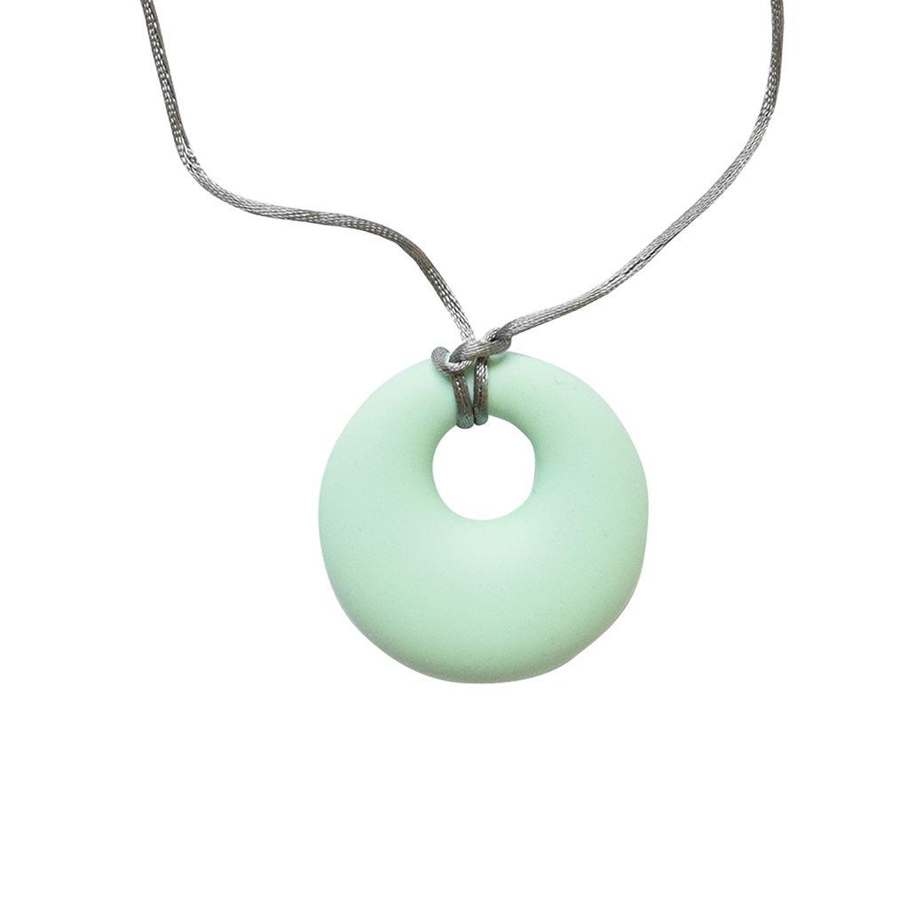 Itzy Ritzy Teething Happens Chewable Mom Jewelry Pendant
