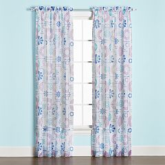 Saturday Knight, Ltd. 1-Panel Dream Window Curtain