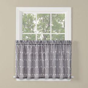 Saturday Knight, Ltd. Briarwood Tier Kitchen Window Curtain Set