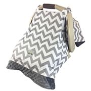 Itzy Ritzy Cozy Happens Infant Car Seat Canopy & Tummy Time Mat