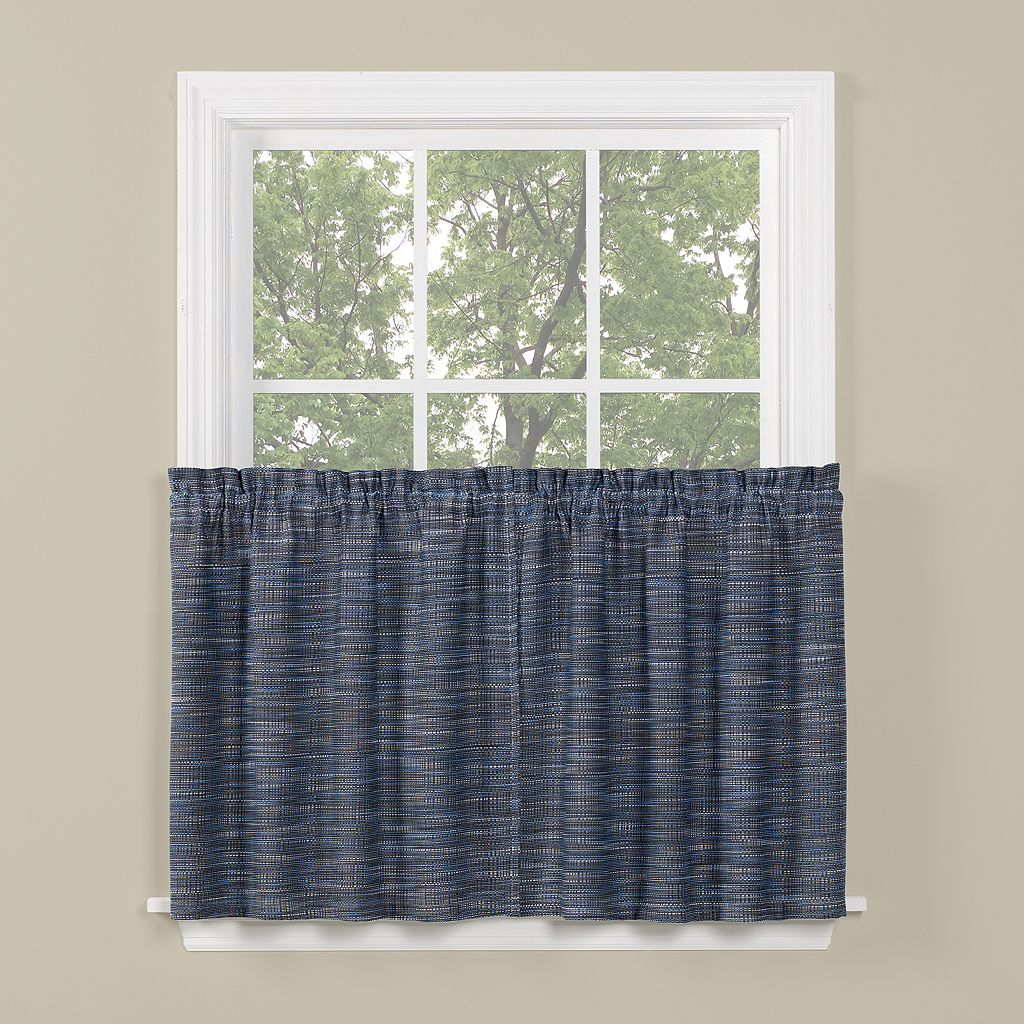 Saturday Knight, Ltd. Copeland Tier Kitchen Window Curtain Set