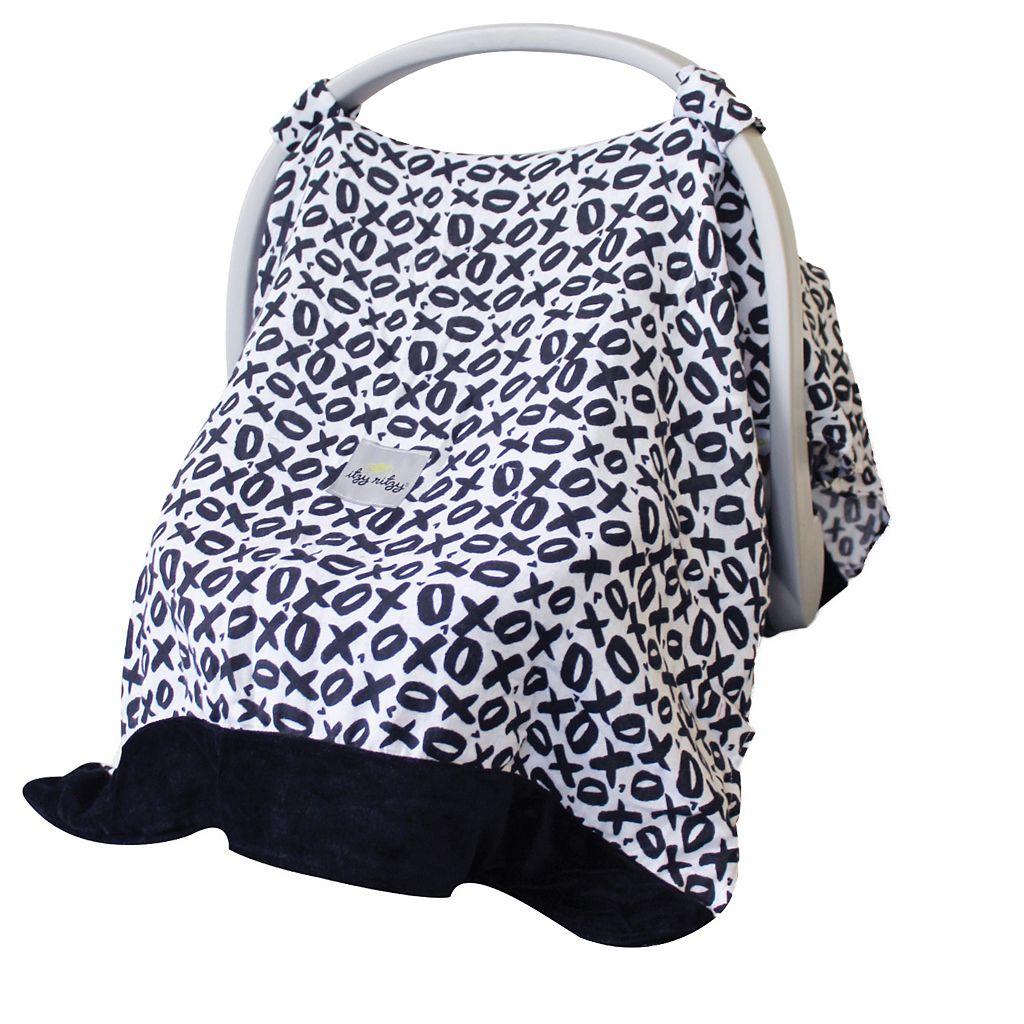 Itzy Ritzy Cozy Happens Muslin Infant Car Seat Canopy