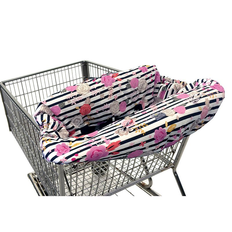 Itzy Ritzy Ritzy Sitzy Shopping Cart & High Chair Cover, INFANT Help keep germs away from little hands with this plush Itzy Ritzy shopping cart and high chair cover. Multi-functional use Fits standard high chairs & shopping carts Reversible design Plush padded fabric Includes 4 toy loops 2 safety belts 2-pockets Cotton Machine wash Manufacturer's 30-day limited warrantyFor warranty information please click here Imported MODEL NUMBERS Posy Pop: GC2008 Floral Stripe: GC8151 Indigo Helix: GC8152 Ombre Dot: GC8153 XOXO: GC8210  Size: INFANT. Color: Multicolor. Gender: unisex. Age Group: kids.