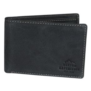 Buxton Expedition II RFID Front Pocket I.D. Slimfold Wallet