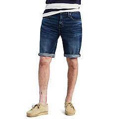 Men's Levi's 502 Rolled-Hem Denim Shorts