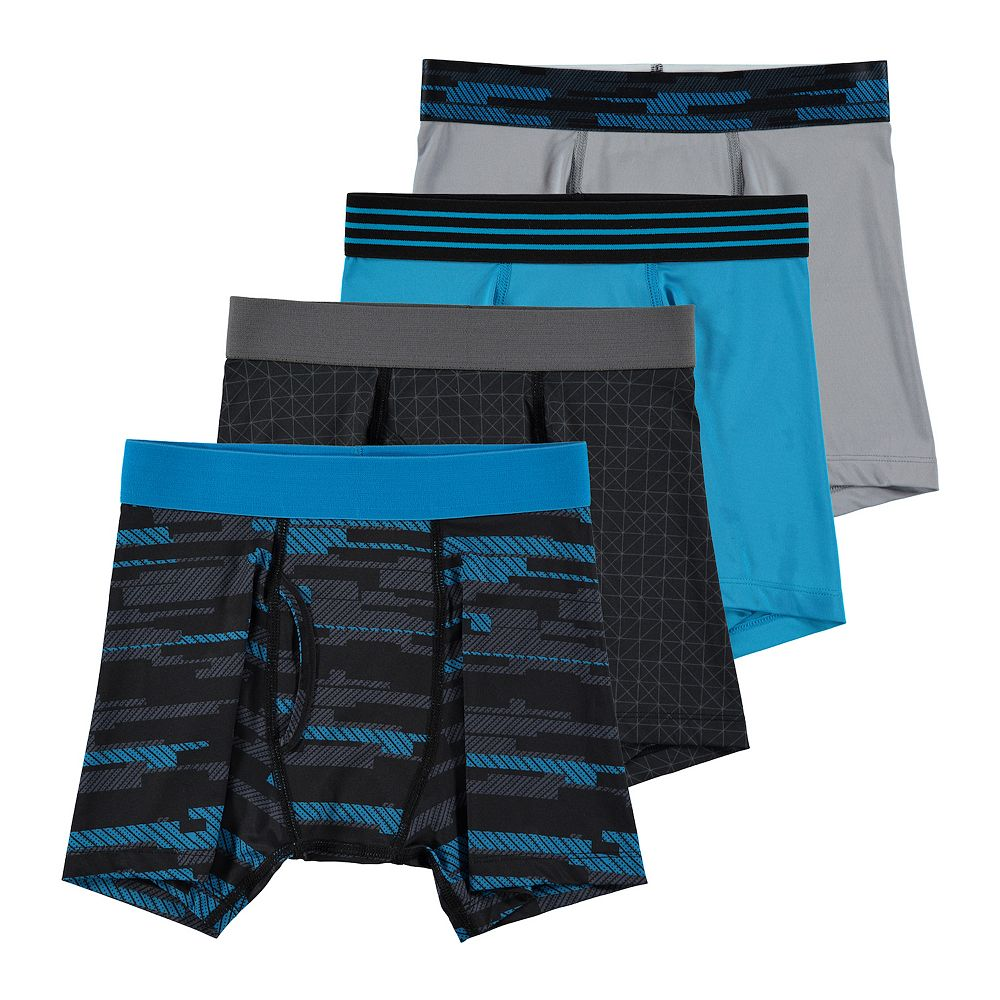 Boys 8-20 & Husky Tek Gear® 4-pk Performance Underwear