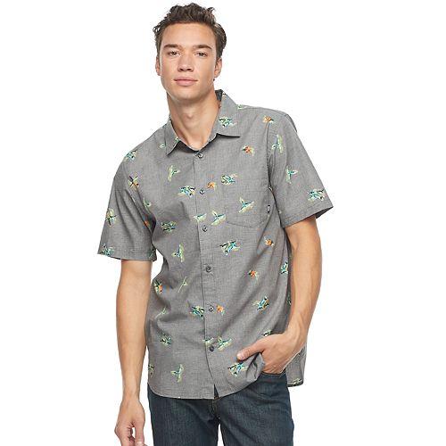 Men's Vans Graphic Button-Down Shirt