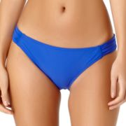 Juniors' California Sunshine Side Tab Hipster Bikini Bottoms