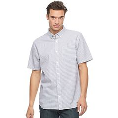 Men's Vans Print Button-Down Shirt