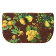 Bacova Botanical Fruit Memory Foam Kitchen Rug