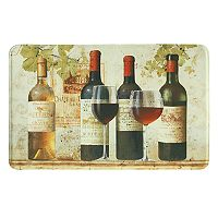 Bacova Wine Tasting Memory Foam Kitchen Rug