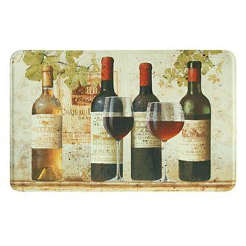 Bacova Wine Tasting Memory Foam Kitchen Rug