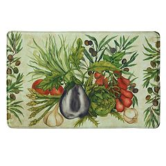 Bacova Trattoria Memory Foam Kitchen Rug