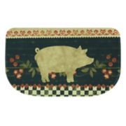 "Bacova Retro Pig Memory Foam Kitchen Rug - 18"" x 30"""