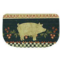 Bacova Retro Pig Memory Foam Kitchen Rug - 18