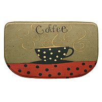 Bacova Coffee Cup Memory Foam Kitchen Rug - 18