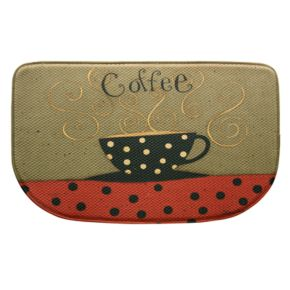 "Bacova Coffee Cup Memory Foam Kitchen Rug - 18"" x 30"""