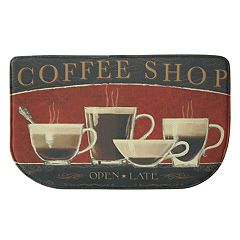 Bacova Coffee Shop Memory Foam Kitchen Rug - 18' x 30'