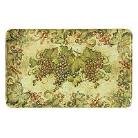 Bacova Antique Grapes Memory Foam Kitchen Rug - 35