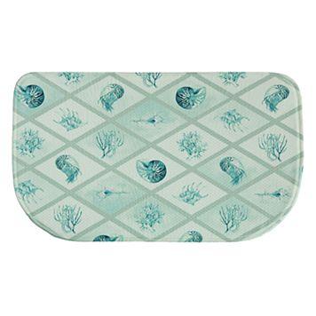 Bacova Diamond Ocean Memory Foam Kitchen Rug - 18