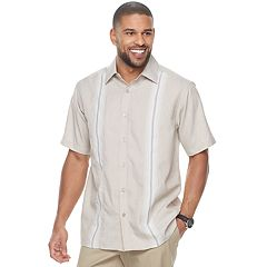 Men's Haggar Classic-Fit Plaid Easy-Care Button-Down Shirt