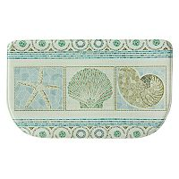 Bacova Seashell Mosaic Memory Foam Kitchen Rug - 18