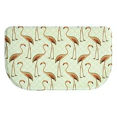 Bacova Floridian Flamingo Memory Foam Kitchen Rug - 18' x 30'